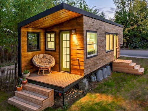 Çelik Ev tiny house